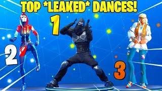 new top 5 leaked dances in fortnite fancy feet dance therapy capoeira shake it up - dance therapy fortnite song