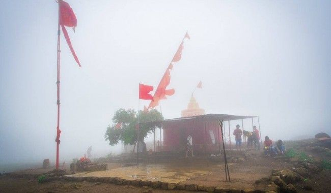 """Trek To Anjaneri Fort >>  #Anjanari fort is is famous for the birth place of """" God Hanuman"""" and only place in world where you can find #Anjani Mata  temple .   #trek #AnjaneriFort #trekking"""