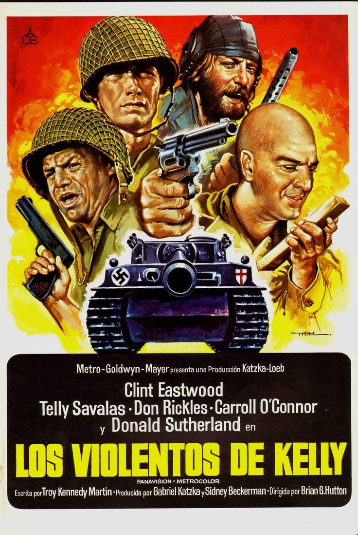 Los violentos de Kelly Movie Posters Cine blico