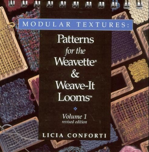Patterns for the Weavette loom by Licia Conforti