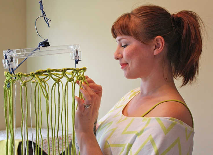 Macrame Produce Bag Tutorial