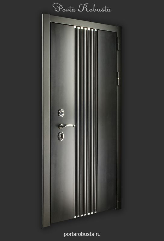 Элитная металлическая дверь в квартиру на заказ в Москве Evolution Lines