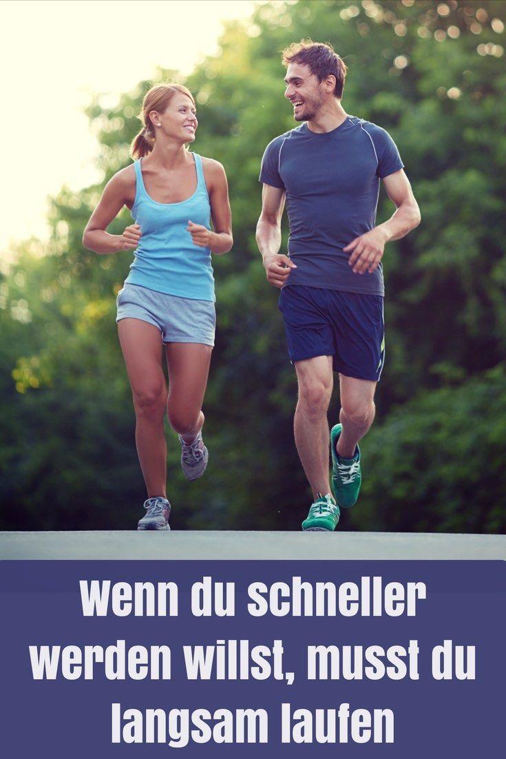 Wenn du schneller werden willst, musst du langsam laufen