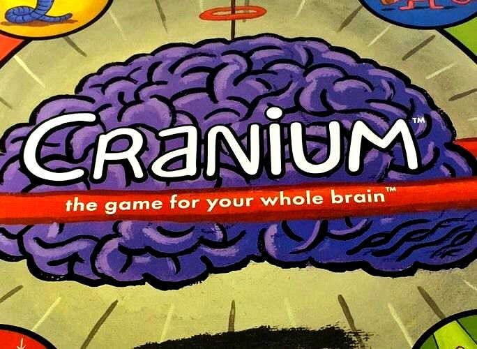 Cranium Board Game 1998 Edition Whole Brain Complete Cards Family Fun Boys Girls #Cranium