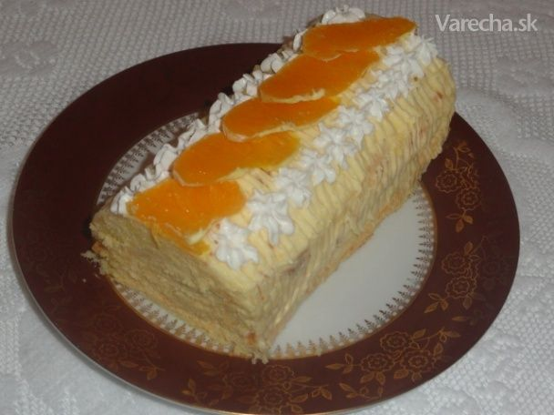 Pomarančová roláda (fotorecept)
