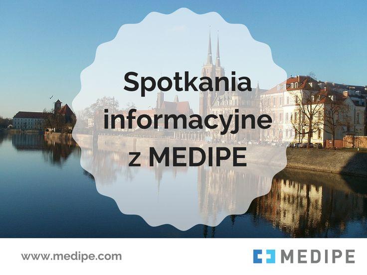 Spotkaj się z nami w Gdańsku, Nysie, Policach i Rzeszowie. Szczegółowe informacje na stronie firmowej MEDIPE: >> http://medipe.pl/spotkania-informacyjne-29-01-04-02-2016-r/