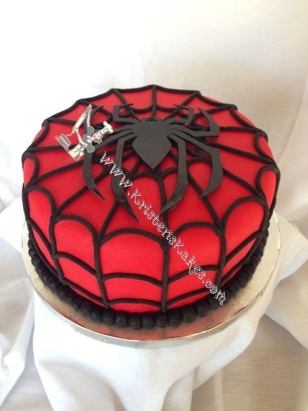 Spiderman cake Copyright © 2016 Kristen's Kakes