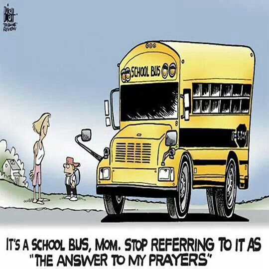 Exactly What The Moms On My Route Say. Find This Pin And More On Yellow School  Bus ...
