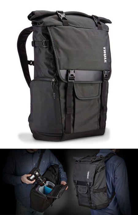 Thule Covert camera Backpack - Camera bags that dont look like camera bags - backpackies.com