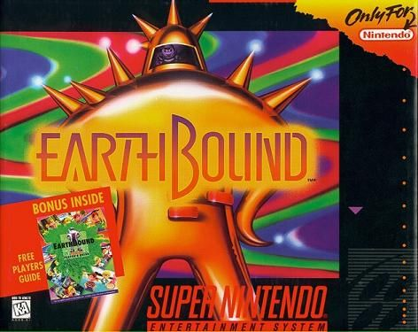 Earthbound. Hands-down, my favorite RPG. It just gets better with age!