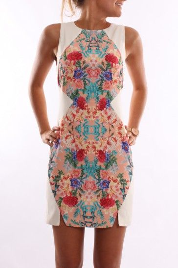 love the print on this cute little number
