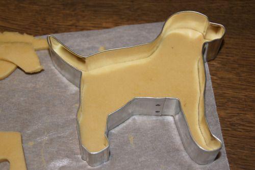 Easy Cookie Cutter Recipe - Dog