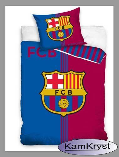Pościel Barcelony w rozmiarach 140x200 i 160x200 - nowy wzór pościeli piłkarskiej