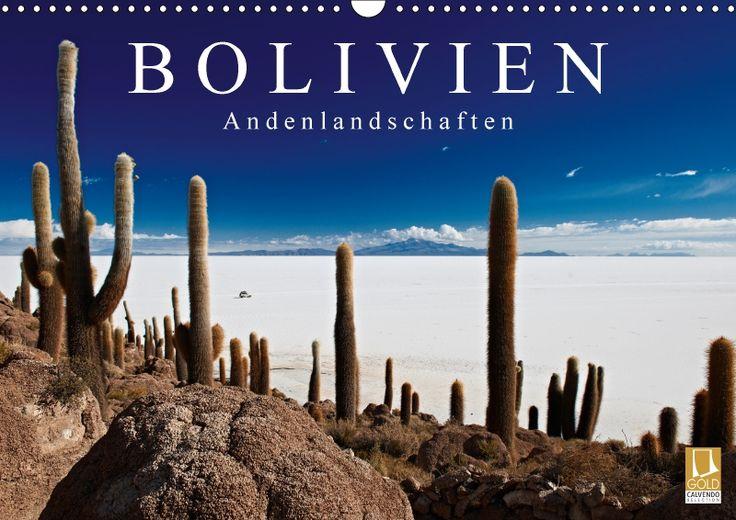 Bolivien Andenlandschaften - CALVENDO