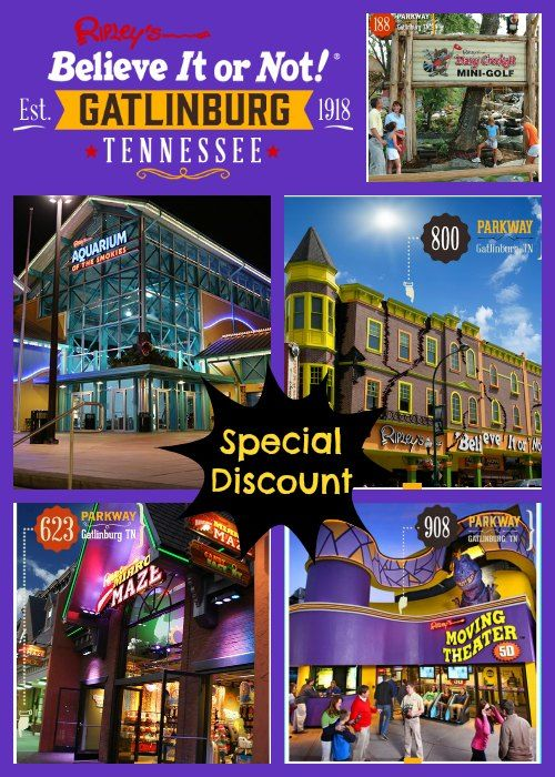 Gatlinburg discount coupons