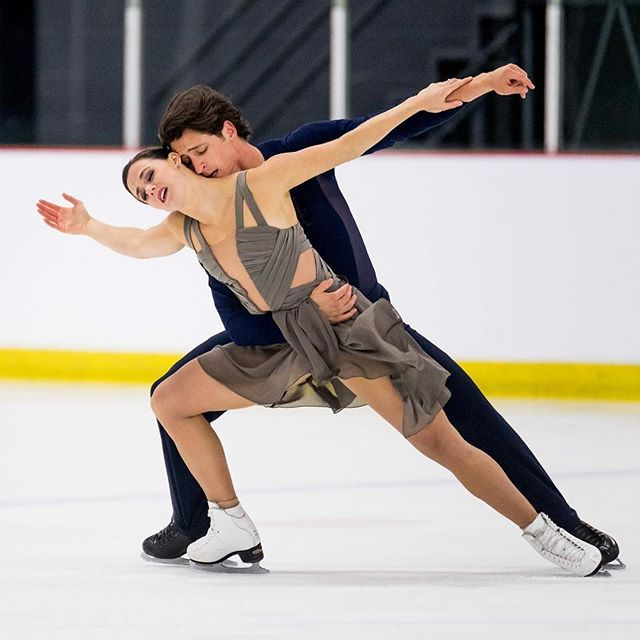 Virtue & Moir of Canada are back. Gold at first competition Autumn Classic International
