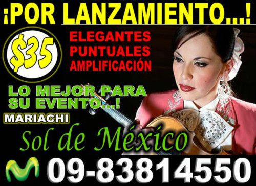 MARIACHI JUVENIL SOL DE MEXICO (mariachi Sur)