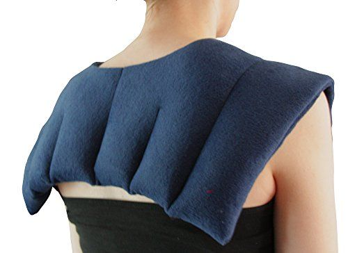 The Tens Company Delux Moist Heat Physio Wheat Pack. Deep Soothing Heat Treats The Neck Shoulders And Upper Back Manu The deluxe neck and shoulder pack with luxury fleece cover, fits around the shoulders,neck and cervical spine. This is the same size of wheat pack as used by medical prof (Barcode EAN = 5060405140201) http://www.comparestoreprices.co.uk/december-2016-6/the-tens-company-delux-moist-heat-physio-wheat-pack-deep-soothing-heat-treats-the-neck-shoulders-and-upper-back-manu.asp