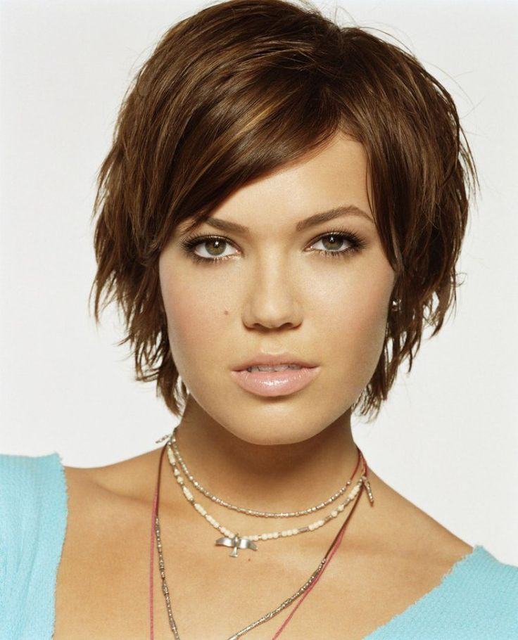 She has fine thick hair like me. I like this in between as I am trying to grow out my pixie.