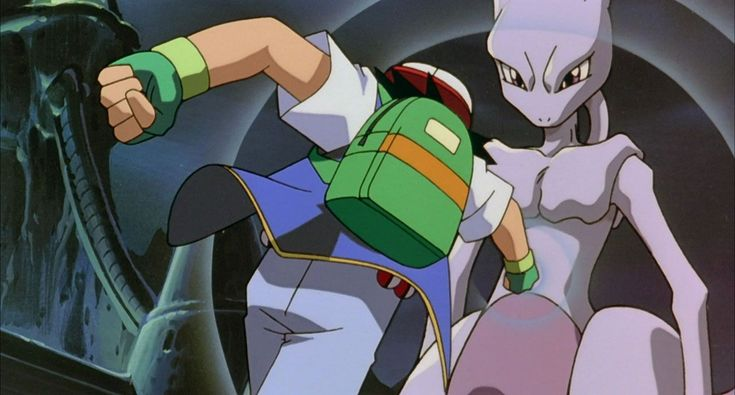 #Ash tries to defeat the worlds most powerful #Pokemon with a single punch. http://www.pokemondungeon.com/movies/pokemon-the-first-movie-mewtwo-strikes-back