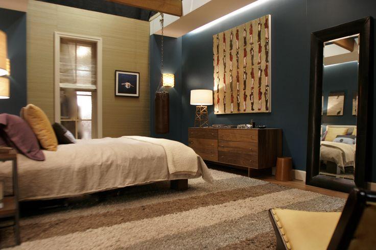 chuck bass residence ● nate's bedroom ● gossip girl (Christina Tonkin)