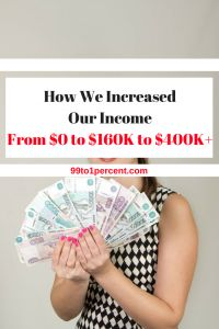 How we increased our income from $0 to $160K to $400K