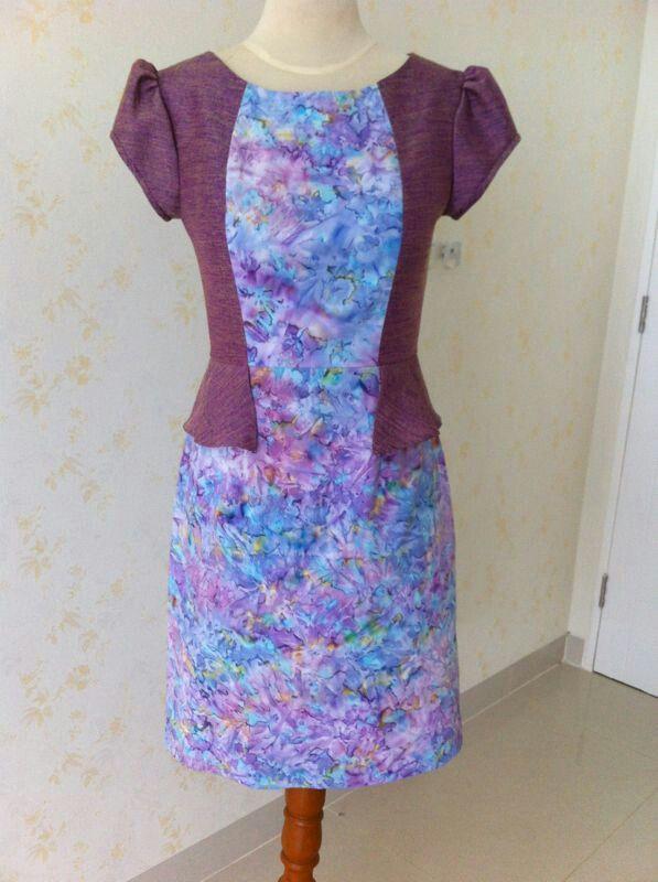 Batik Cendana dress by Dongengan (Facebook: Kreasi Dongengan)