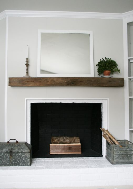Fireplace Mantle For The Home Pinterest