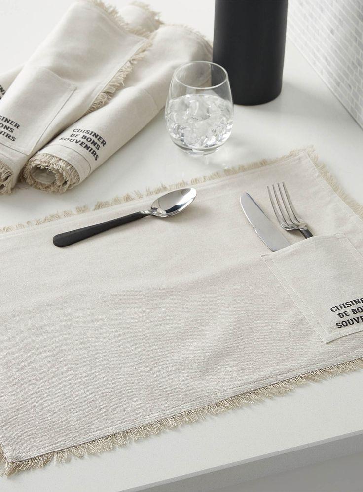 les napperons cuisiner de bons souvenirs ensemble de 4 ricardo magasinez des napperons de. Black Bedroom Furniture Sets. Home Design Ideas