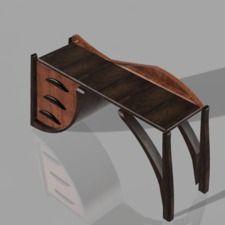 desktop wooden | Autodesk Fusion 360