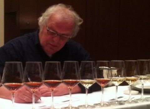 GrapeRover (Cornelius Wesseling) as juror at the Thessaloniki Wine Competition 2012.