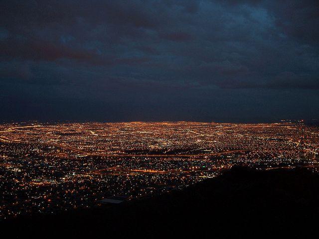 """Cities of a Billion Lights""- El Paso, TX & Ciudad Juarez, Chihuahua, Mexico"