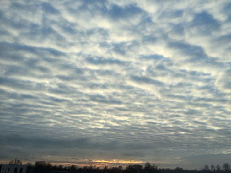 Omgekeerde wolken