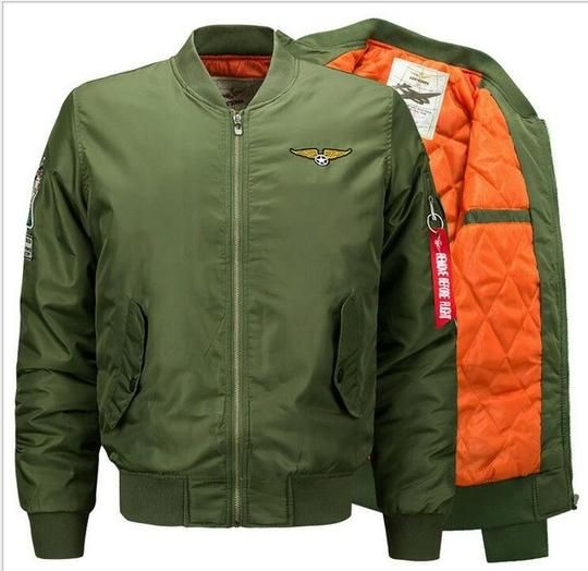 905d8a7c0 Grandwish Flight Bomber Jacket Men Plus Size 6XL Men Pilot Bomber ...