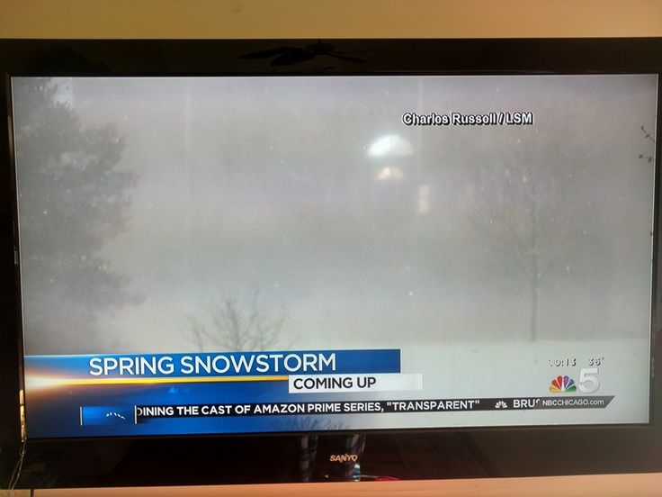 Grand Rapids, MI Snow - NBC 5 Chicago - 4/3/16