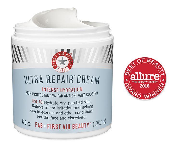 First Aid Beauty: Ultra Repair Cream: dry skin and eczema treatment