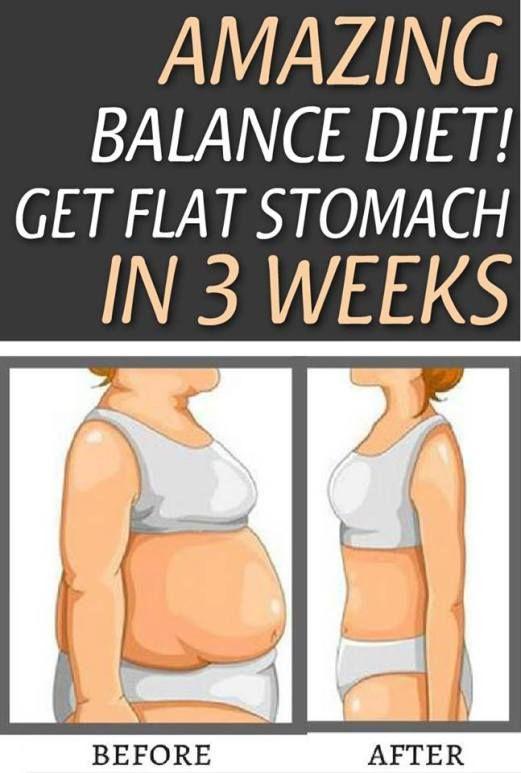 Amazing Balance Diet!  Get Flat Stomach In 3 Weeks