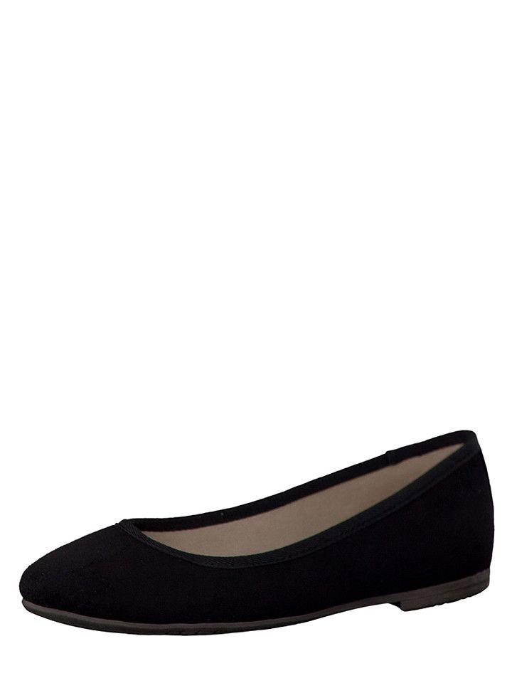 Passen zu allen Sommeroutfits - Tamaris Ballerinas in schwarz bei limango.