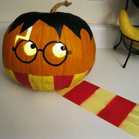 Harry Potter Crafts Ideas Games Moaning Myrtle 39 S Bathroom: easy pumpkin painting patterns