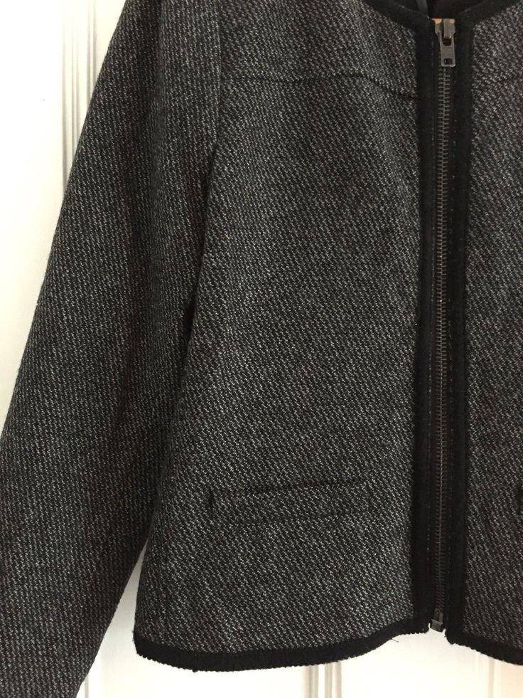 MANGO Casual Woolen / Woven Jacket M 8/10/12 - Tweed, Smart, Suit, Zara, Winter | eBay