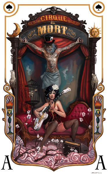 Cirque du Mort Art Print by Rudy Faber. So Nice.