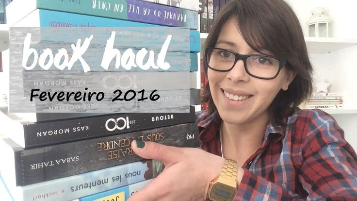 Book Haul #1 | Fevereiro 2016 - So happy with books