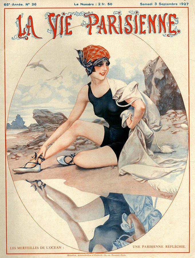 La Vie Parisienne - Illustration by Cheri Herouard h1927