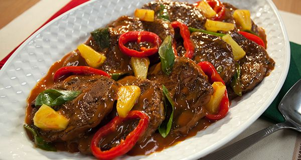 Hawaiian Steak | Del Monte Philippines a simple recipe to try.