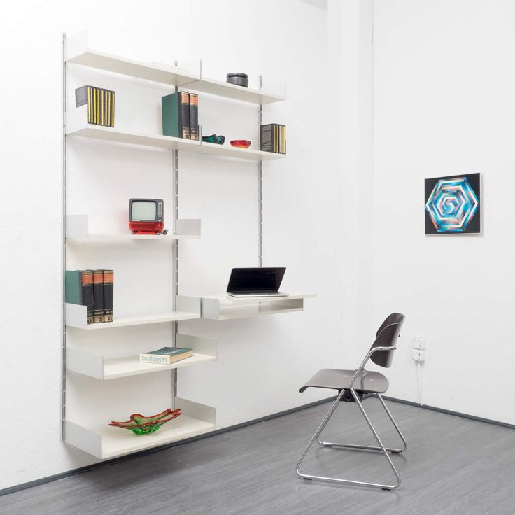 1960s shelving system 606 by Dieter Rams for Vitsoe For the Home