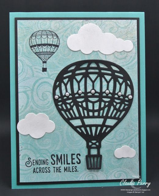 Stamping in Columbus, GA, Lift Me Up, Stampin' Up!