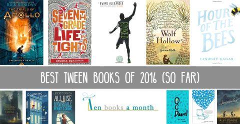 Best Tween Books of 2016