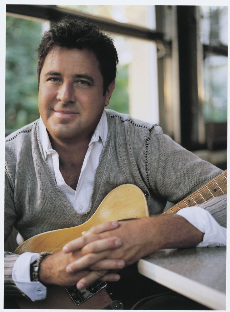 Vince Gill..I think he was her favorite country music singer...and the fact he's from Oklahoma just made her all the more proud of him!   :)