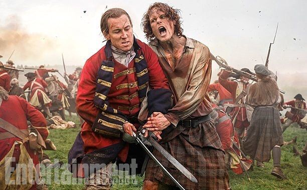 Check out some more BTS @outlander_starz photos with @entertainmentweekly online and in the new issue! We all hope you like!?