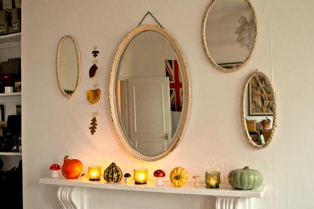 Autumn mantlepiece